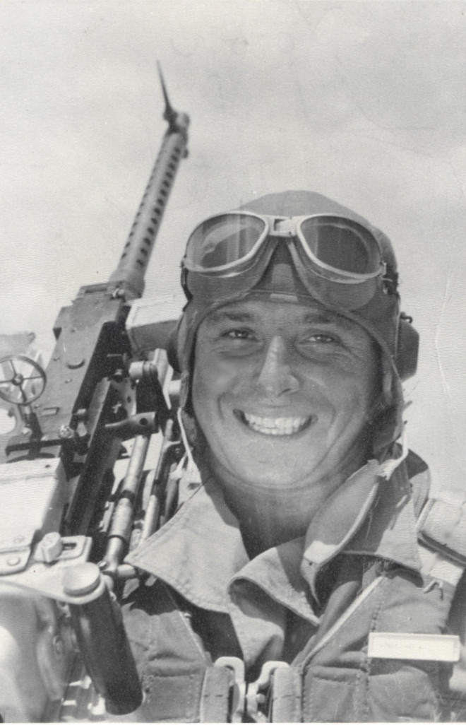 "T/Sgt Max W. Lower, radio operator on ""Old Baldy"" shot down during Operation Tidal Wave (Courtesy DPAA)"